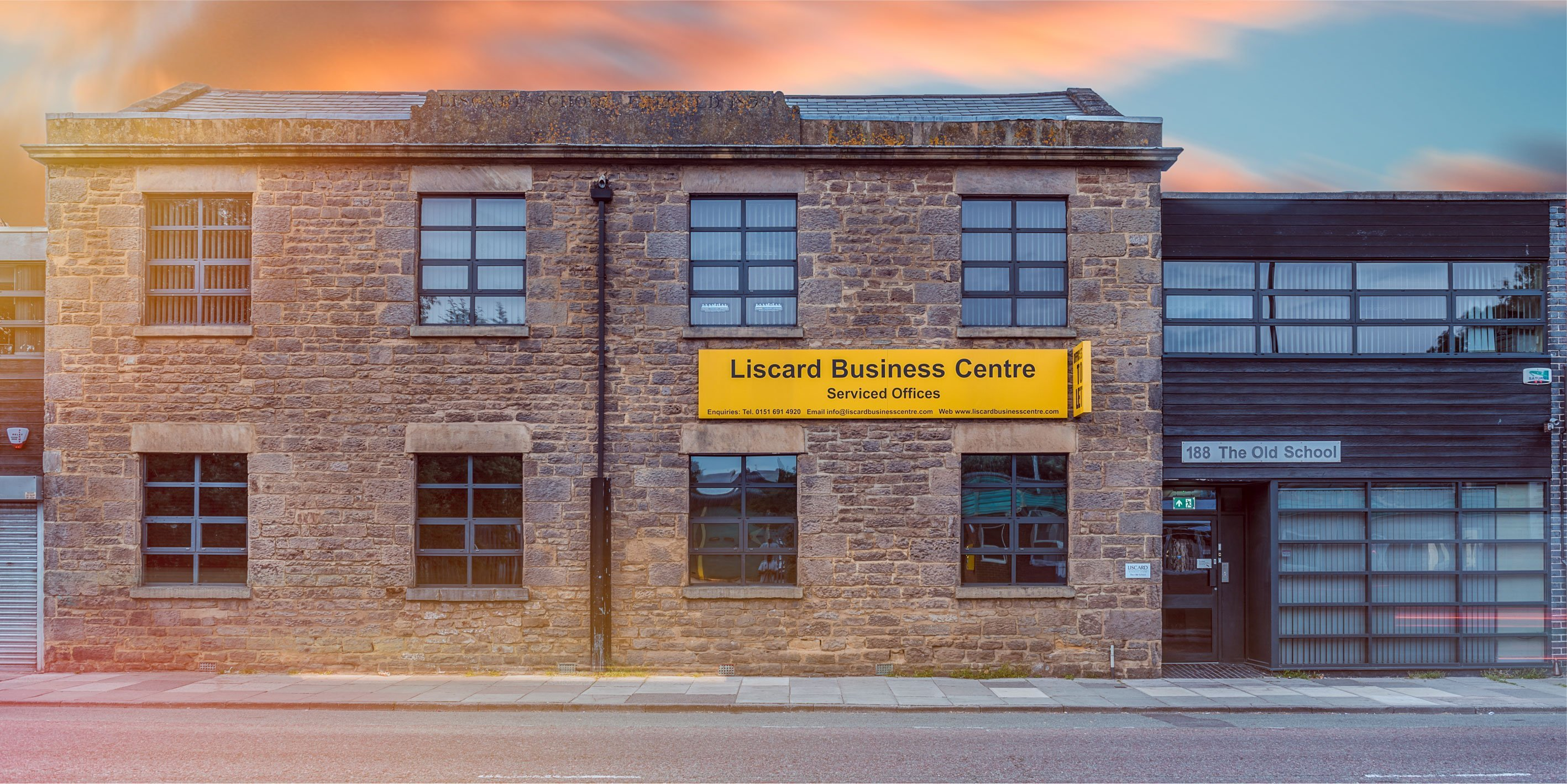 Liscard Business Centre Exterior Shot